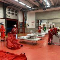 Terremoto in Mugello, il paddock dell'autodromo trasformato in un punto d'accoglienza