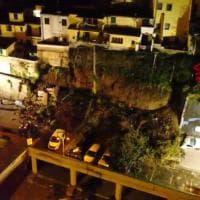 Crolla muro a Montelupo: auto distrutte, evacuate 5 famiglie