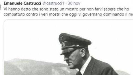 No al sequestro del profilo Twitter per il prof di Siena che ha elogiato Hitler