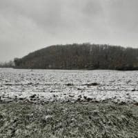 Prima neve in Toscana, imbiancato anche il Mugello