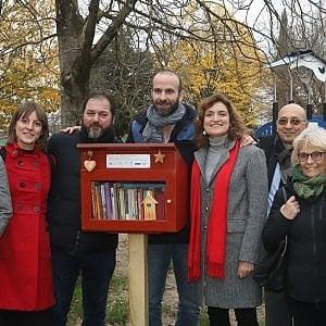 Firenze, via al bookcrossing: la prima cassetta a Campo di Marte