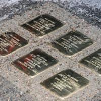 Firenze, le pietre d'inciampo per ricordare gli orrori nazifascisti