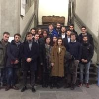 Firenze, la protesta degli studenti all'inaugurazione dell'anno accademico