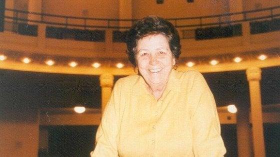 Teatro, addio a Roberta Betti, l'imprenditrice che salvò il Politeama di Prato