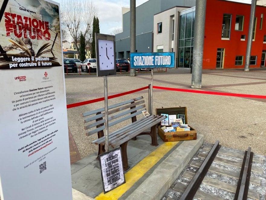 Giorno della memoria, a Firenze la stazione con i libri per non dimenticare