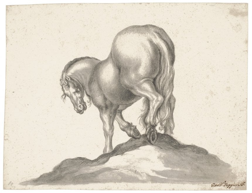 Il 'Cavallo' di Jackie Kennedy entra nella collezione di disegni degli Uffizi