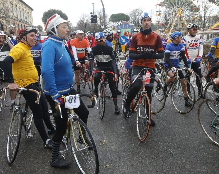 I 150 anni della gara ciclistica Firenze-Pistoia