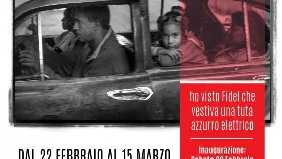 """Lucia Baldini a Fiesole: """"Ho visto Fidel con la tuta azzurro elettrico"""""""