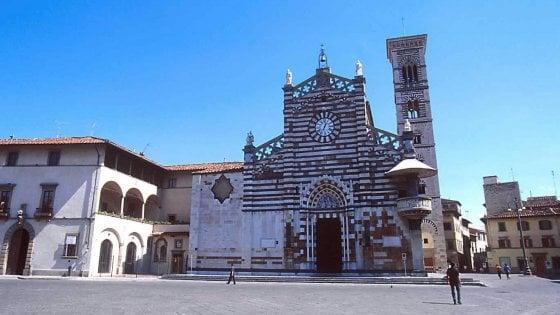 Coronavirus, contro l'epidemia a Prato ostensione del Sacro Cingolo