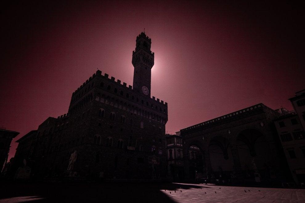 Coronavirus, Firenze vista all'infrarosso