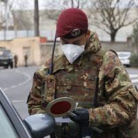 Firenze coronavirus, i controlli dei militari al Parco delle Cascine