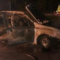 San Miniato (Pisa), corpo carbonizzato in un'auto andata a fuoco