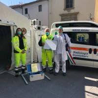 Firenze, la radiologia adesso arriva a domicilio grazie alla donazione della Fondazione Crf