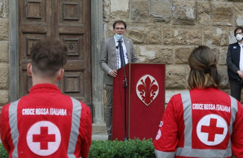 Firenze, la Fondazione Kennedy regala un'ambulanza alla Croce Rossa