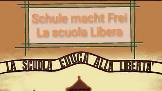 Esponente della Lega posta l'ingresso di Auschwitz come fosse una scuola: è polemica