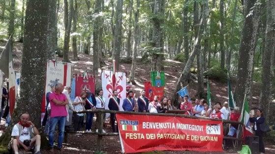 Raduno Anpi, i partigiani al Monte Giovi