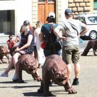 I lupi di Liu Ruowang invadono Pitti e Santissima Annunziata