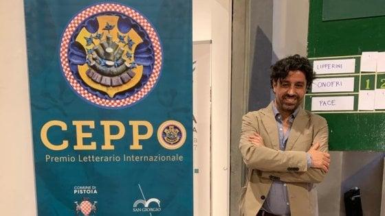 Pistoia, la lectio di Federico Pace, vincitore del Premio Ceppo Selezione Racconto 2020