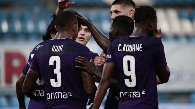 Spal-Fiorentina 1-3 La cronaca