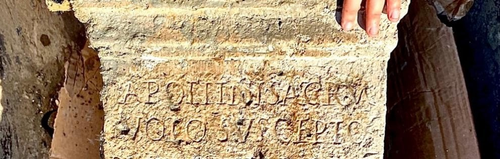 San Casciano dei Bagni (Siena): gli archeologi scoprono il santuario di Apollo