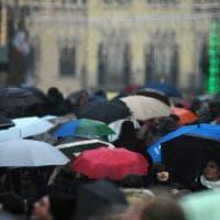 Toscana, codice arancione per pioggia e vento