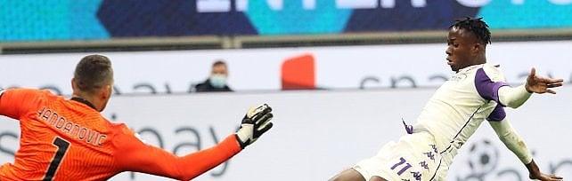 Kouamé, allegria in attacco e un gol lampo che accende la Fiorentina