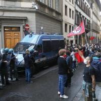 Firenze, antagonisti in marcia contro l'apertura della sede di Firenze Identitaria