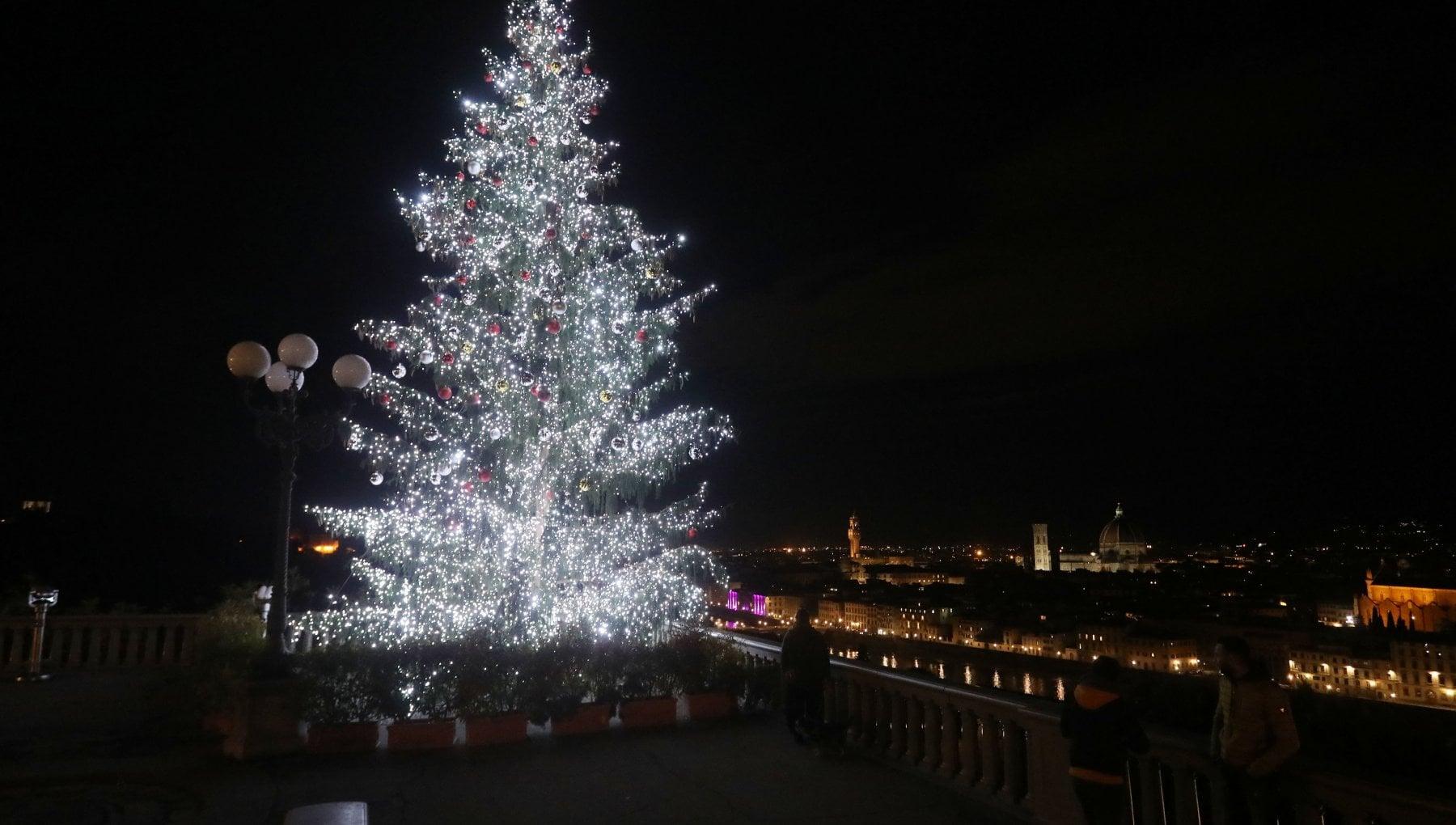 Immagini Alberi Di Natale.Firenze Il Sindaco Accende Gli Alberi Di Natale Con Un Clic La Repubblica