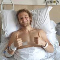 """Il coraggio di Christian che ha perso le gambe nell'incidente a Livorno: """"Sogno già le..."""