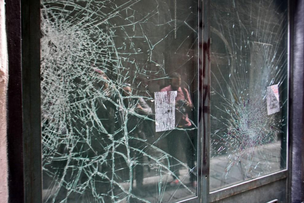 Buridda, l'assalto alla sede del Pd