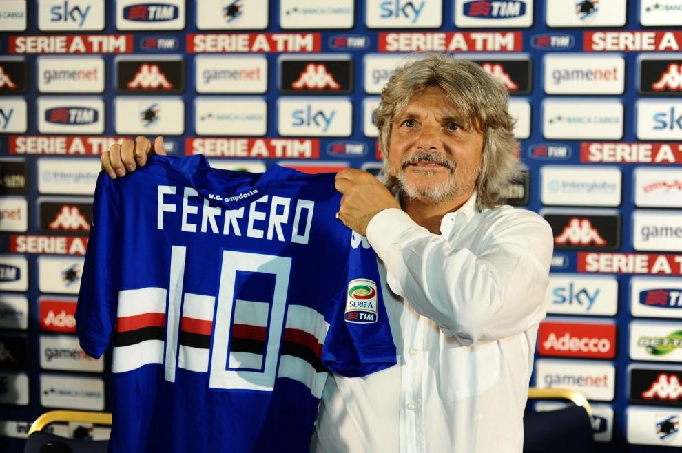 Sampdoria, Massimo Ferrero è il nuovo presidente