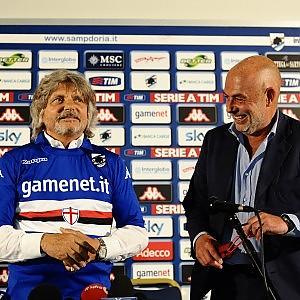 """Garrone: """"Lascio una Samp competitiva"""" Ferrero: """"Onorato da questa maglia"""""""
