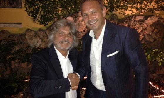 Mihajlovic resta alla guida della Samp, intesa con Ferrero