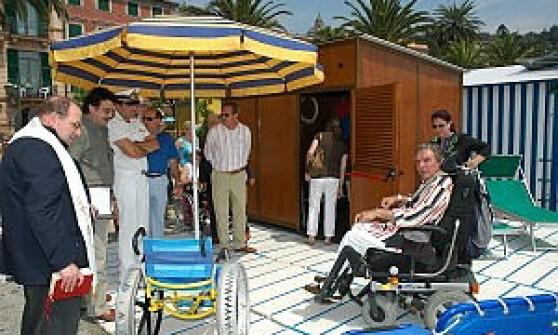 """Turismo in Liguria, una """"bandiera lilla"""" ai comuni più attenti ai disabili"""