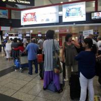 Colombo, voli saltati e ritardi, caos in aerostazione