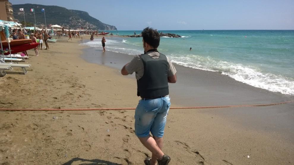 Pietra Ligure, i carabinieri con il mitragliatore sulla ...