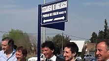 """Inaugurata in Argentina """"Calle Sessarego de Bogliasco """""""