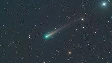 La cometa Jaques 'passa' dal Righi