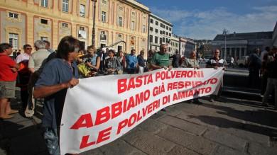 Amianto, 1300 ricoveri in 3 anni a Genova   ft