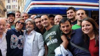 Scoppia la febbre da derby Ferrero in coda al Sampdoria point