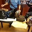 Rubava borse griffate per portare la spesa  video