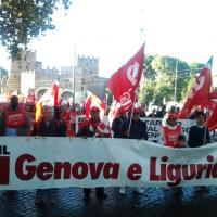 Da tutta la Liguria alla manifestazione della Cgil