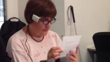 """""""Horus"""", l'occhiale hi-tech che legge per i non vedenti      video"""