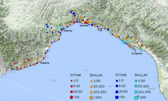 Contro i disastri in campo il Cnr ma in Liguria nessuno se ne accorge e in 44 anni si piangono 100 morti