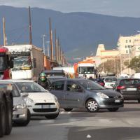 """Genova, sciopero """"sociale"""", il blocco dei portuali"""