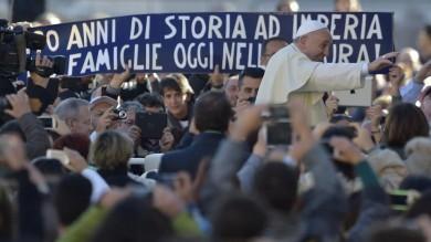L'Agnesi va dal Papa e Francesco ricorda  le vittime dell'alluvione in Liguria