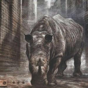 Caccia grossa in Africa gli artisti si schierano a difesa dei rinoceronti