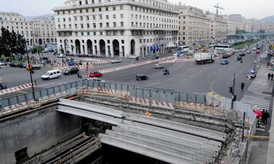 """Bisagno, per i nuovi cantieri stravolta la viabilità della Foce """"Taglieremo i posti per le auto"""""""