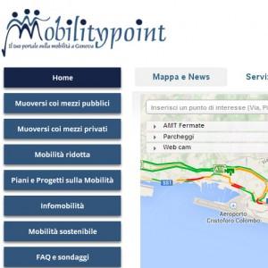Mobility point, un portale per muoversi a Genova