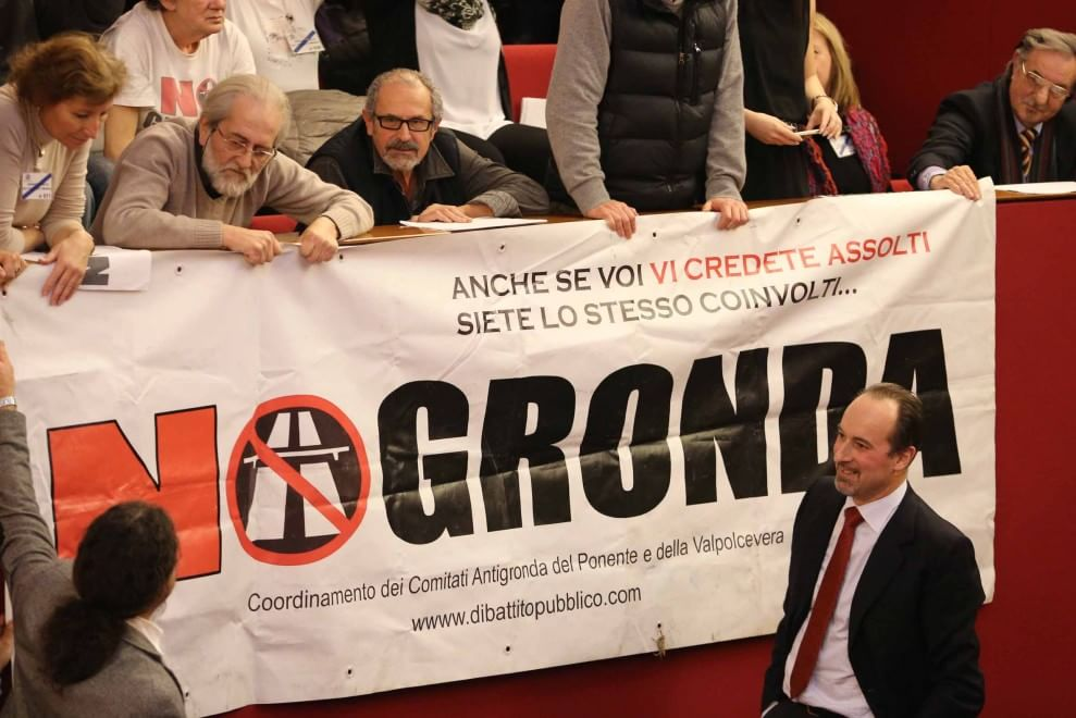 Gronda, l'ultimo voto, maggioranza spaccata